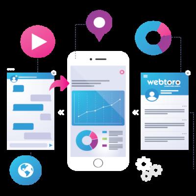 webtoro app development